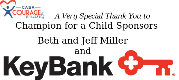 Champion for a Child Sponsors Beth and Jeff Miller and Key Bank