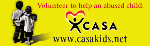 Volunteer to help an abused child or donate below